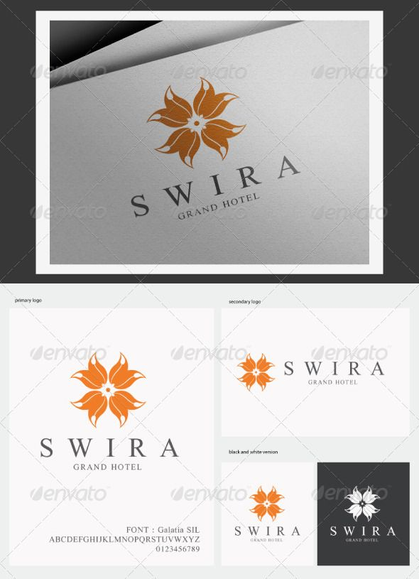 Swira Grand Hotel Logo — Vector EPS #creative #logo • Available here → https://graphicriver.net/item/swira-grand-hotel-logo/3158658?ref=pxcr