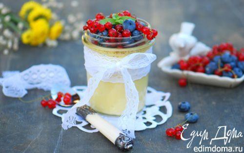 Ванильный крем-брюле с ягодами | Кулинарные рецепты от «Едим дома!»