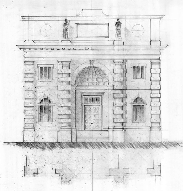 Best Architectural Ornamental Drawings Images On Pinterest