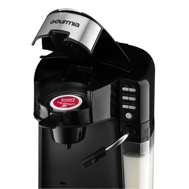 Gourmia® GCM 6000 Coffee/Cappuccino/Latte Maker in Black