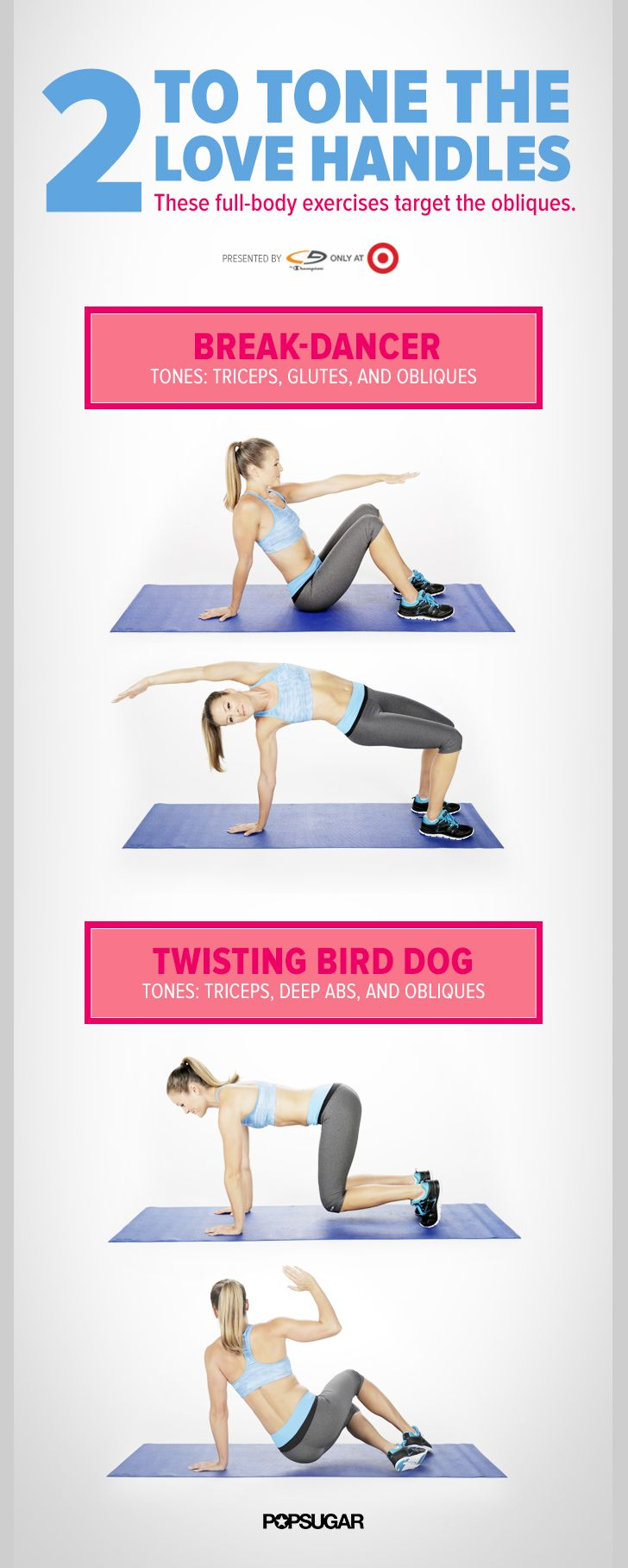 Full-Body Strength (and love handles): Waistband Relief: Tighten Your Love Handles With This Fitness Quickie