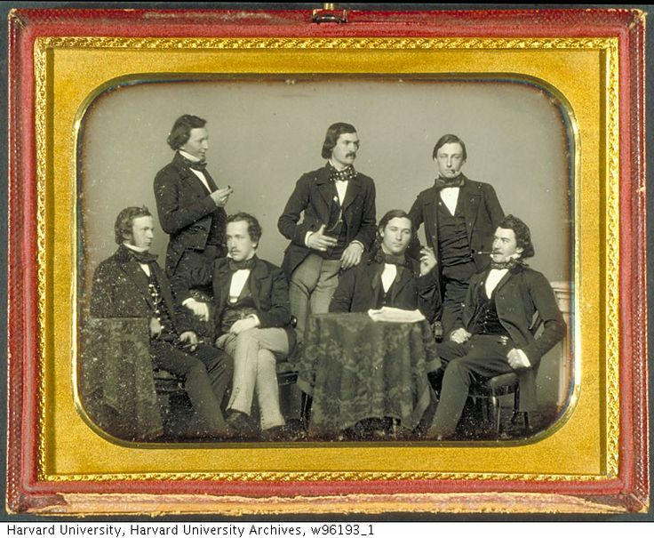 (1852) Members of the Harvard College Class of 1853