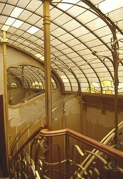 Art Nouveau House Interior Architecture