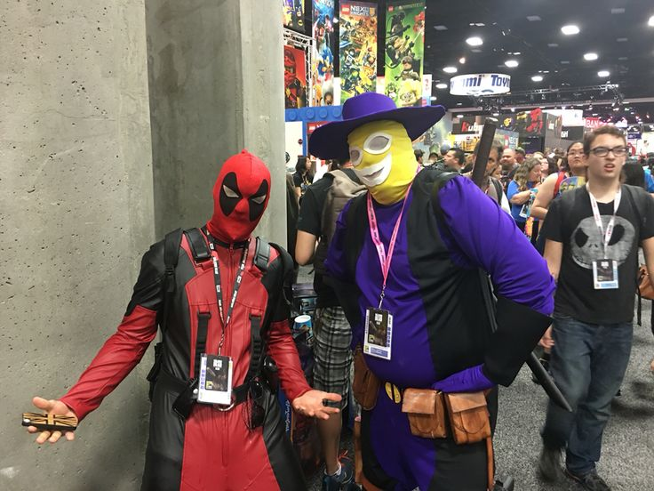 Madcap and deadpool