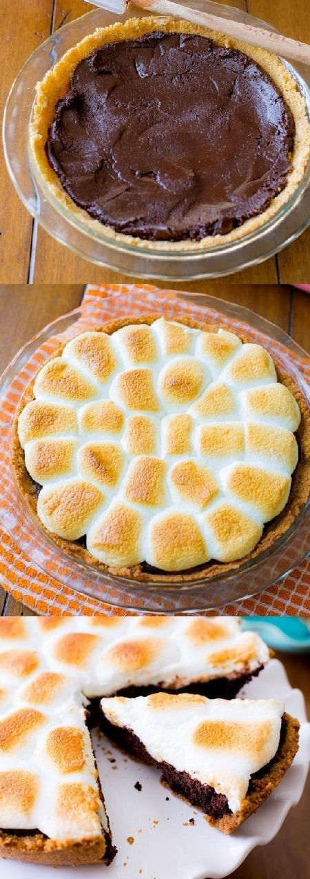 S'mores Brownie Pie.