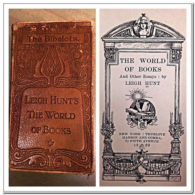 Leigh hunt essays
