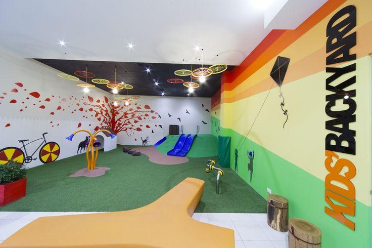 Marrickville Metro Kids Backyard play area