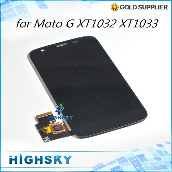 298.00$  Watch more here - http://ai26x.worlditems.win/all/product.php?id=32666524561 - Lcd display for Motorola MOTO G XT1032 xt1033 screen + touch digitizer replacement parts accessories 10 pcs/lot free shipping