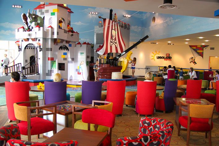 With kids in tow, you may want to consider staying at the LEGOLAND Hotel. See these tips and warnings.