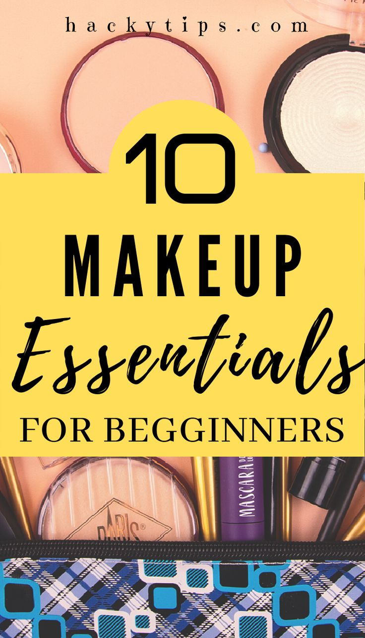 The 10 most important makeup items for Beginners in 2020
