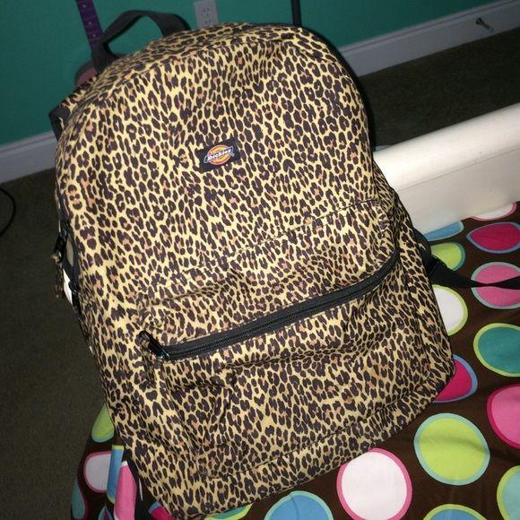 Cheetah Dickies Backpack  Supper cute backpack for school!  Dickies Other