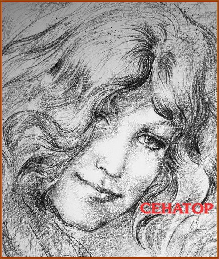 графический портрет анны герман - graphic portrait of anna german (кликните мышкой, чтобы увеличить картину!)