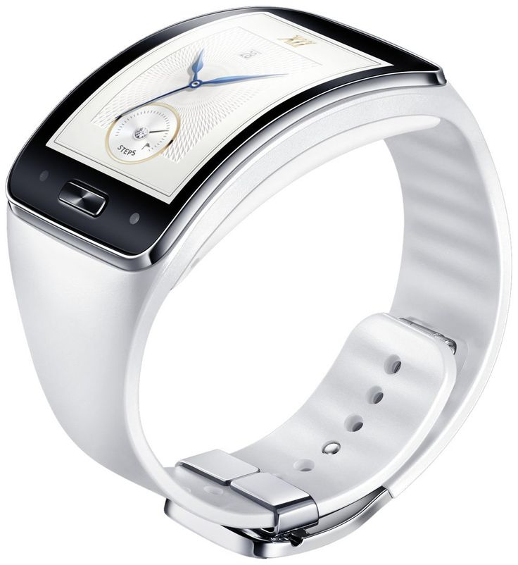 Samsung Gear S Strap – Retail Packaging – White With the Samsung Gear S, you can replace your bands at any time. Lose or damage your Gear S straps, Replacements are available. Switch in a new color to mix things up or match your outfit.