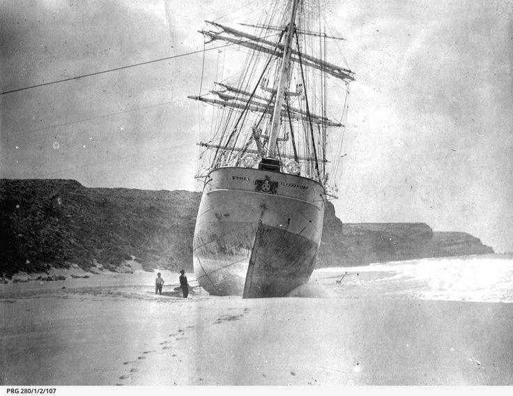 Ethel wreck 1903 #innes #yorkes #sagreat