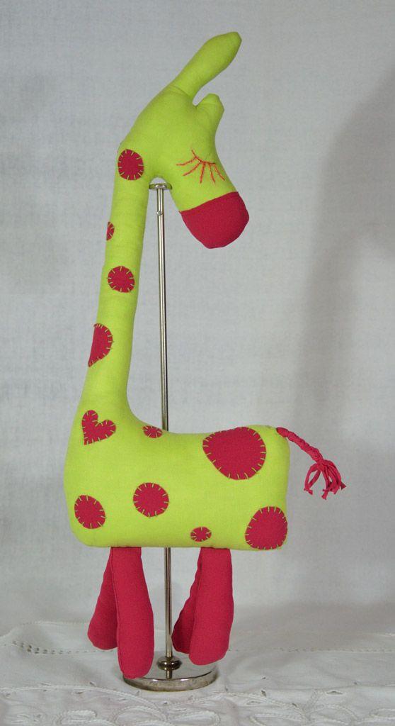 #wystrój  #rękodzieło  #ozdoby #handmade  #falbana.pl  #zwierzak #maskotka  #przytulanka  #żyrafa