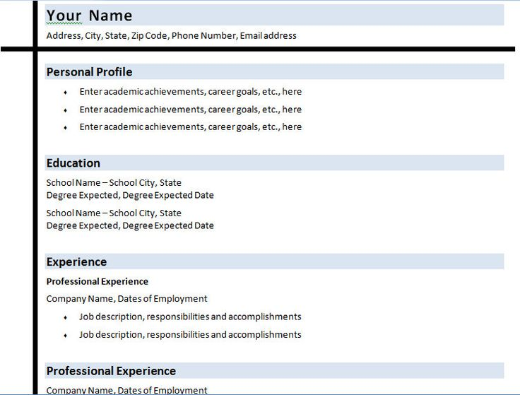 1000 ideas about college resume on pinterest resume