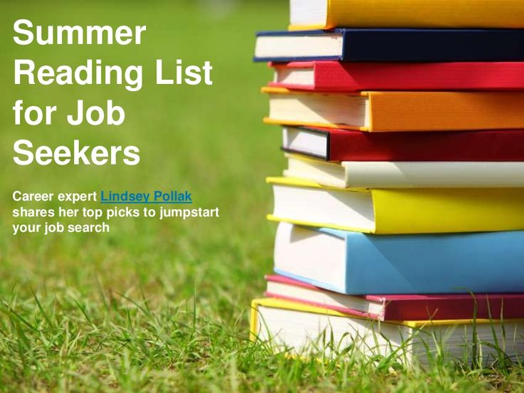 summer-reading-list-for-job-seekers by LinkedIn via Slideshare