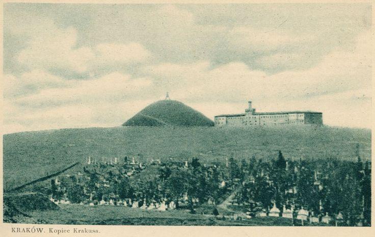 Fort i Kopiec Krakusa. Galeria: Dawne widokówki.