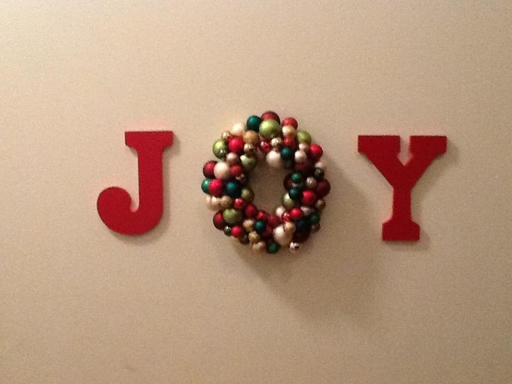 Pinterest inspired DIY Christmas Decor :-)