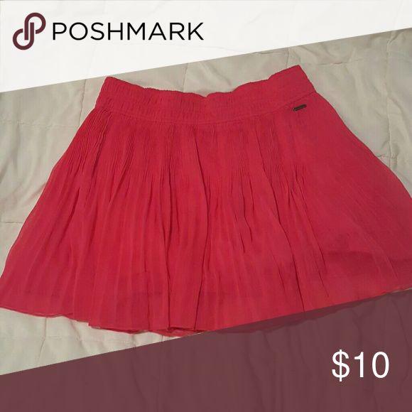 Hollister skirt Pink hollister skirt Hollister Skirts Mini