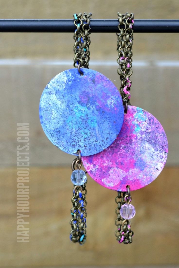 311 best 30 minute jewelry crafts images on pinterest jewelry colorful patina painted diy bracelets at happyhourprojects solutioingenieria Image collections