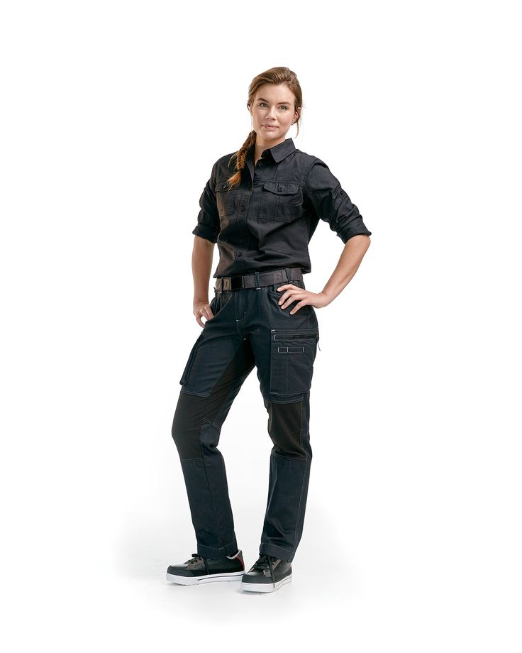 Blåkläder -                                 715911428999 Ladies Service trousers stretch