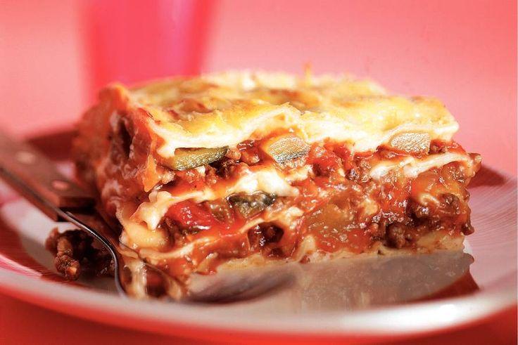 Kijk wat een lekker recept ik heb gevonden op Allerhande! Lasagne met ratatouille