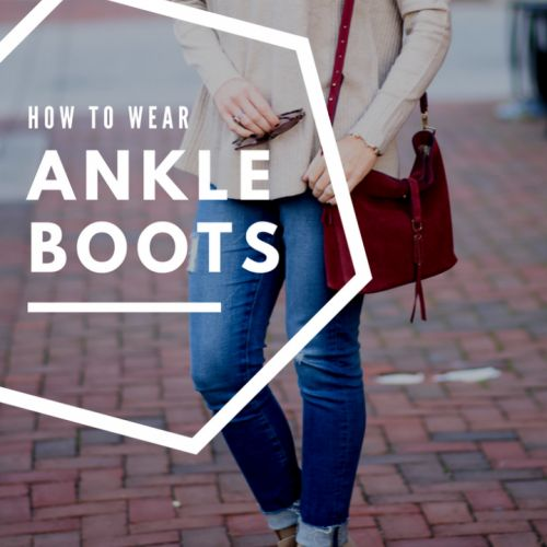 how to wear ankle boots over 40