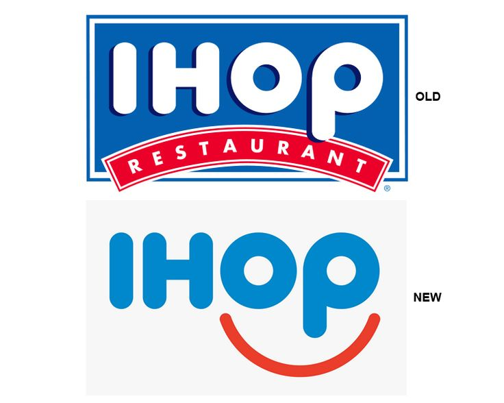 Why is the IHOP Logo Smiling?   StockLogos.com