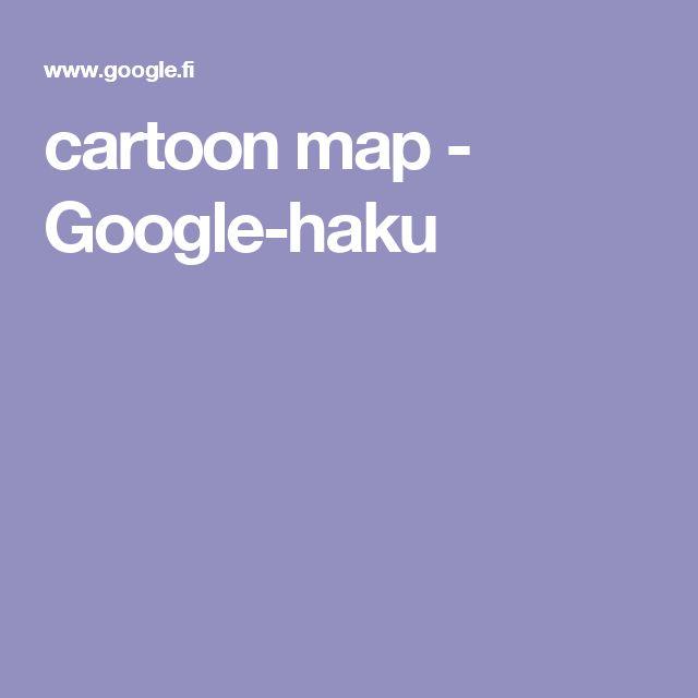 cartoon map - Google-haku