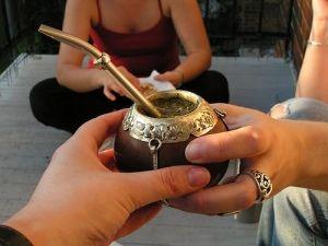 Yerba mate bebida típica de Argentina y Terra Nostra ;)