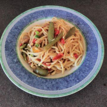 Čínské nudle - Klasické Čínské nudle - rychlé a dobré jídlo