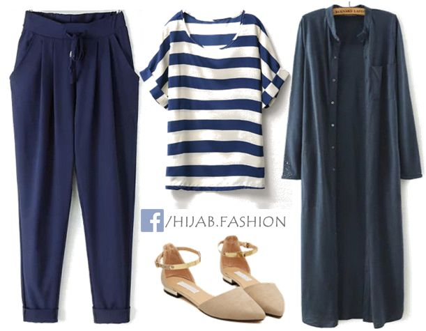 This is a comfy everyday outfit idea, you can wear any casual thing under these trendy long blouses, they are so modest and can be worn either closed or open. With no further here are the stores from where you…