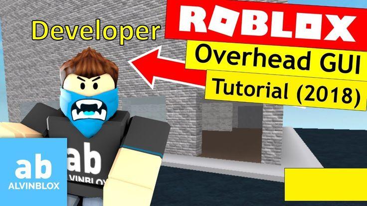 How To Make An Overhead GUI Roblox Scripting Tutorial