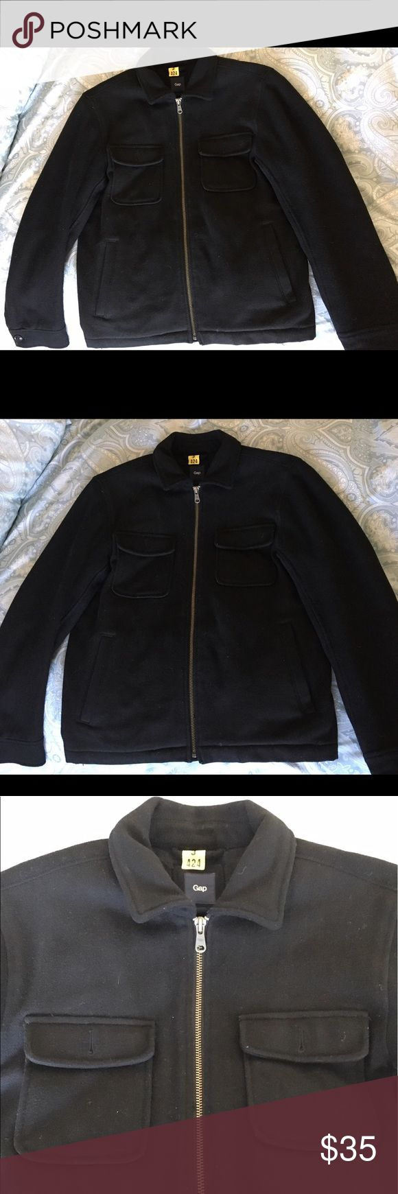 Men's Gap Jacket In like new condition! Warm, nice structure, no flaws GAP Jackets & Coats Pea Coats