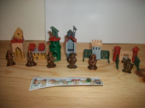 1999-Kinder-Surprise-Toys-SET-OF-6-CASTLES-METAL-FIGURES-K98-N99-K98-N103