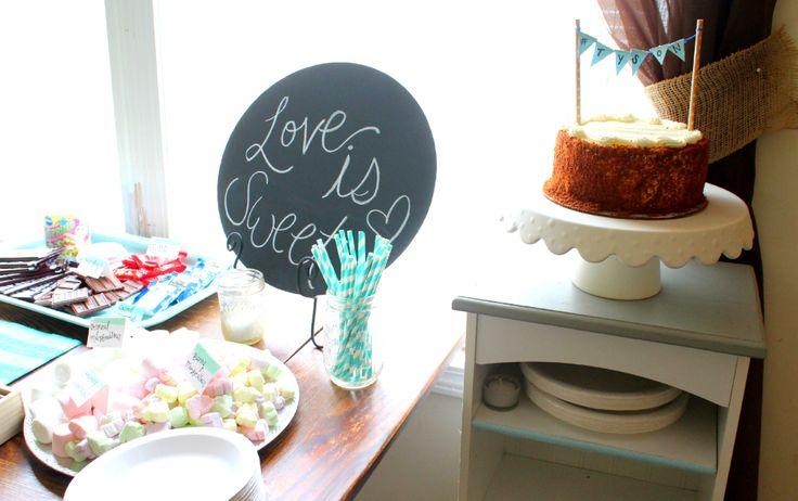 Love is Sweet S'more Bar engagement party: Top Secret Surprise Engagement Party Details