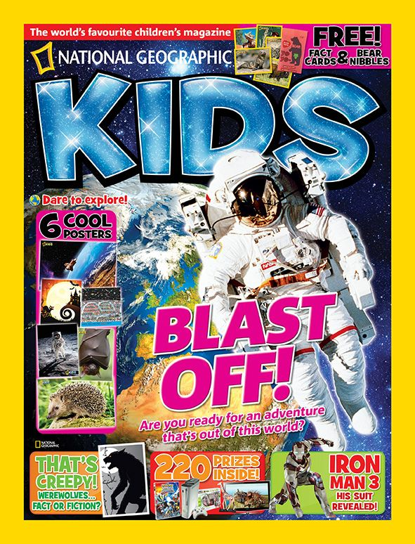 Filled with fab facts, amazing images and cool competitions, this month's magazine is our special issue - all about space!