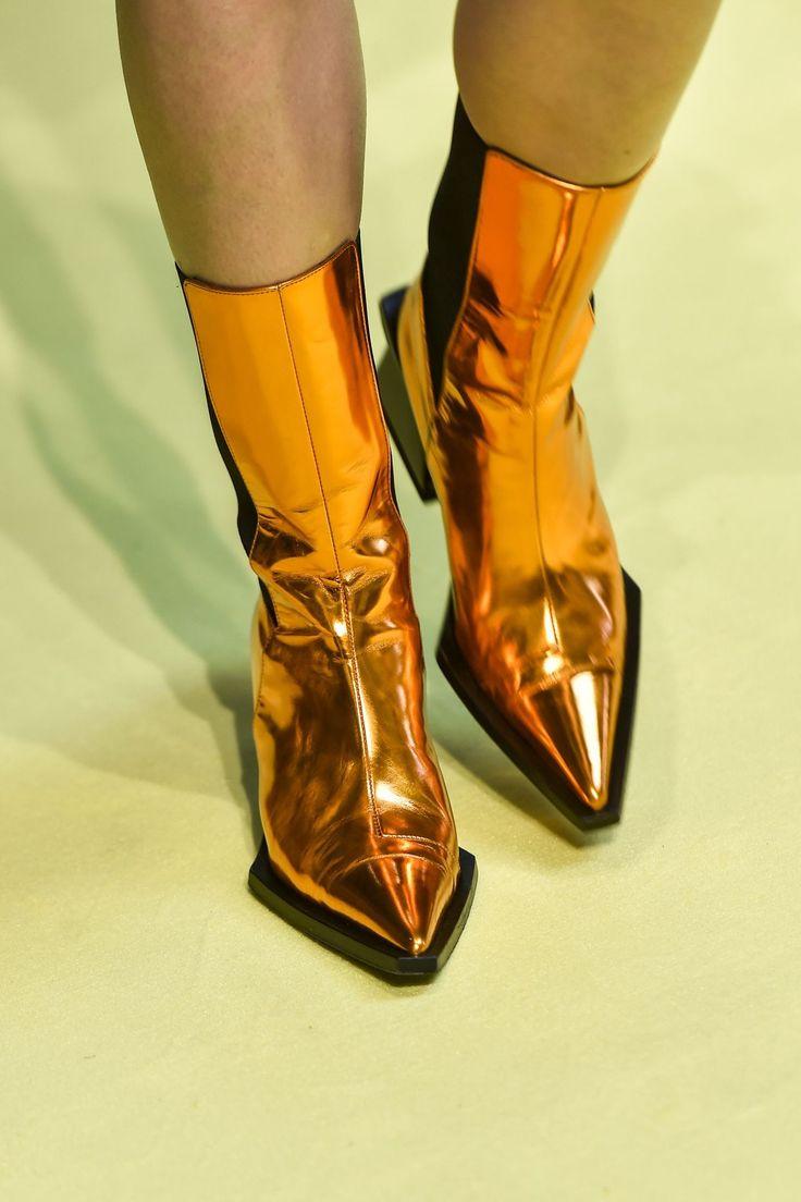 MARQUES'ALMEIDA Leather Boots