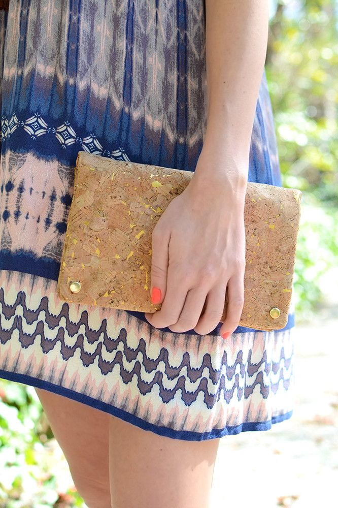 Looking for the perfect accessory to carry all of your 'must have' necessities while you're out and about? We've got it here with this fabulous and super versatile cork clutch! This beauty can also tr                                                                                                                                                                                 More