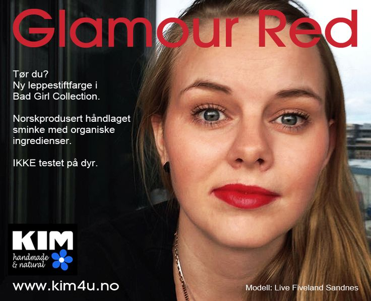New Color - Glamour Red Bad Girl Collection www.kim4u.no