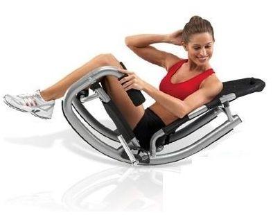 El aparato de abdominales Abs Rockin es la forma rápida de obtener fabulosos abdominales. El Rockin ABS está diseñado para conseguir resultados de forma rapida, sin dolores y sobre esfuerzos.