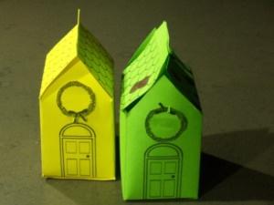 Le nostre casette fatte a mano con la carta