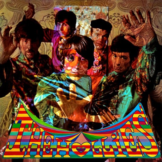 The Hollies 1967 Album Cover Of Evolution Clothing By The