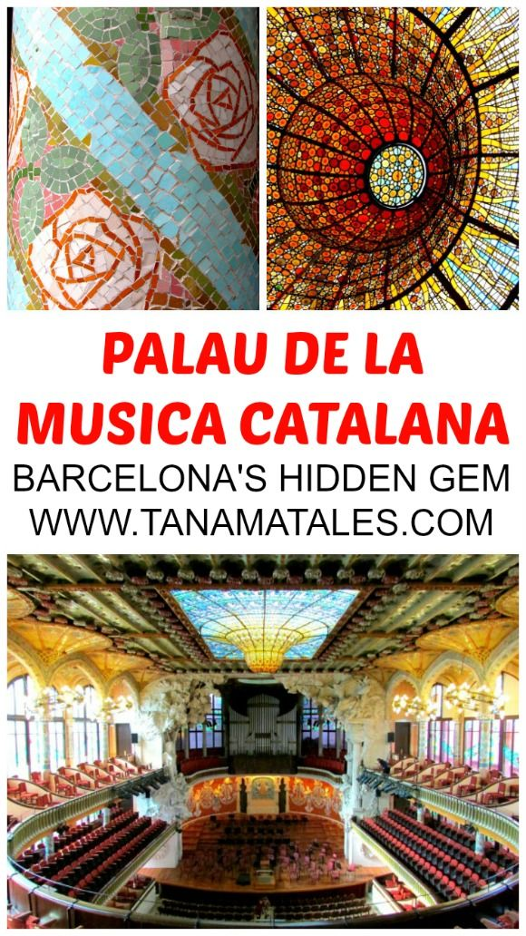 Barcelona, Spain - Things to do and travel tips - This is going to sound like a bold statement but a visit to Barcelona is not complete if you do not visit The Palau de la Musica Catalana, a concert hall designed in a Modernist style by the architect Lluis Domenech i Montaner.  Yes, all of Gaudi's structures are great but this place is in its own league.