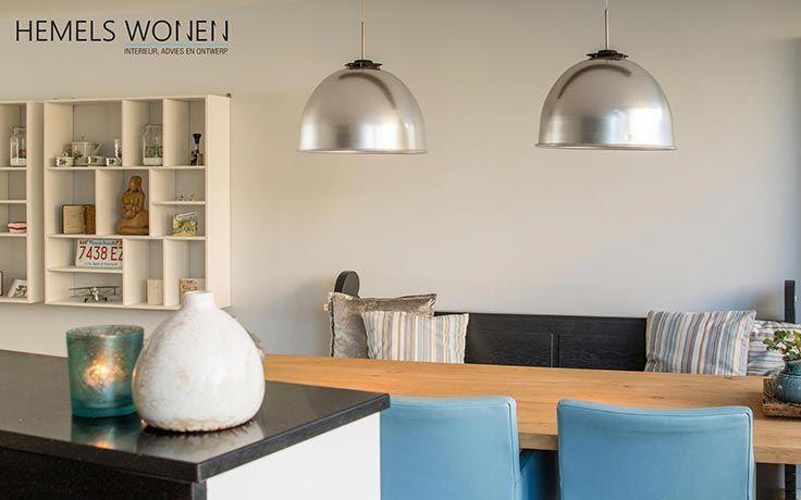 Modern interieur eetkamer