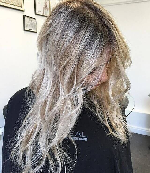 50 Platinum Blonde Coiffure Concepts for a Glamorous 2019