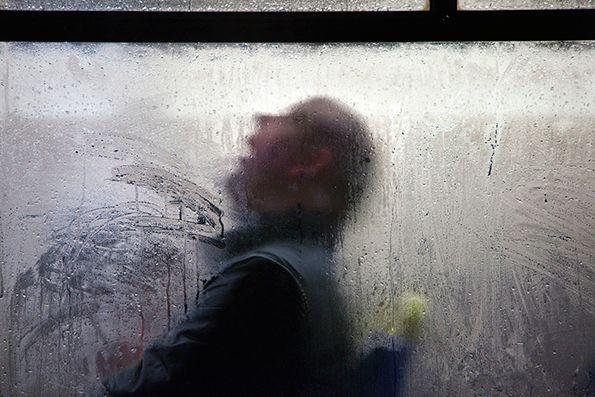 Nick Turpin makes wet winter bus journeys somehow seem beautiful