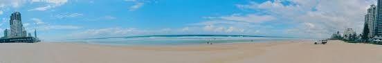 AUSTRALIA  SURFERS PARADISE BEACH GOLD COAST  CLOTHING OPTIONAL SECTION