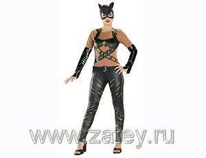Женщина кошка маскарадный костюм